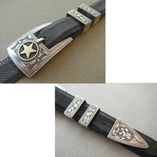 Lone Star Buckle Set - 008